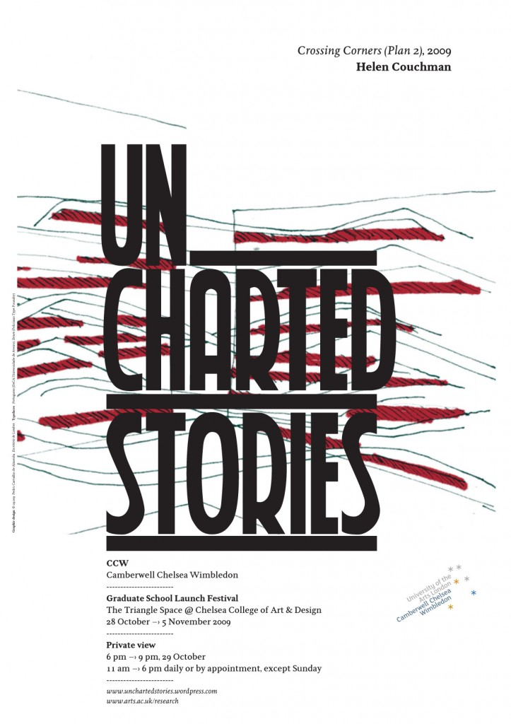 Uncharted Stories POSTER Helen Couchman