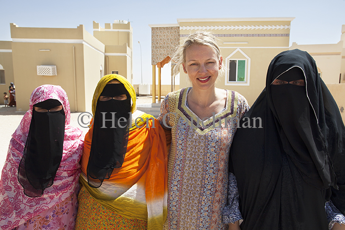 Working with women in Oman Oman; Women; Omani, Helen Couchman, artist