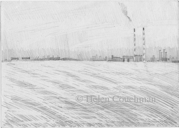 drawing, UK, pre China copyright Helen Couchman