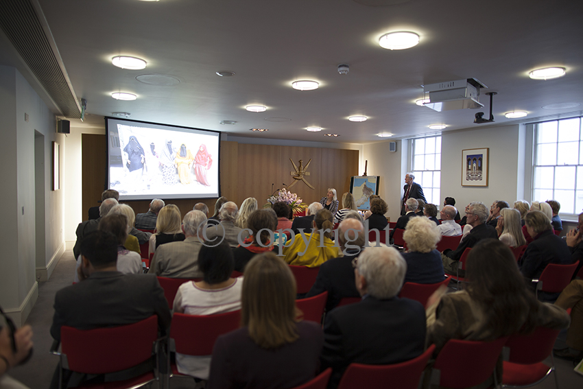 Omani Women art project, Helen Couchman presents at the Anglo-Omani Society, London