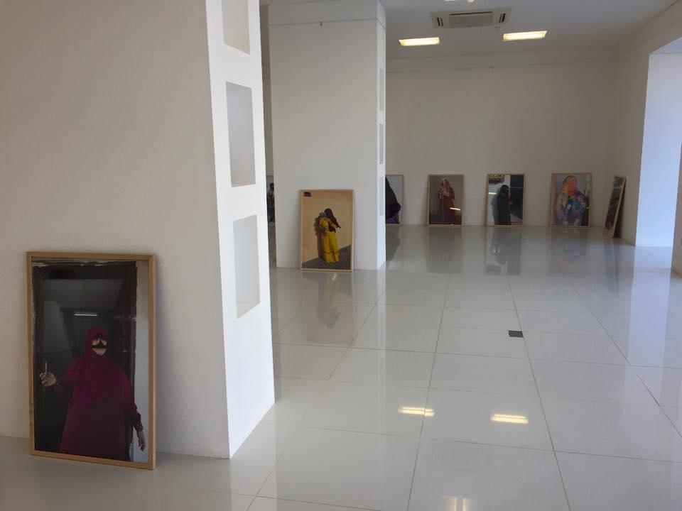 Omani Women, Gallery Sarah, Bait Al Zubair Museum, Muscat, Oman. copyright Helen Couchman 3