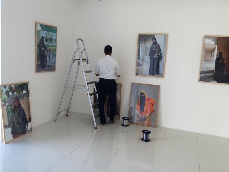 Omani Women, Gallery Sarah, Bait Al Zubair Museum, Muscat, Oman. copyright Helen Couchman 4