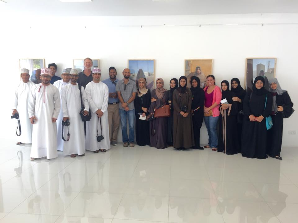 Presentation and Q&A with Higher College of Technology, Oman. Omani Women by Helen Couchman