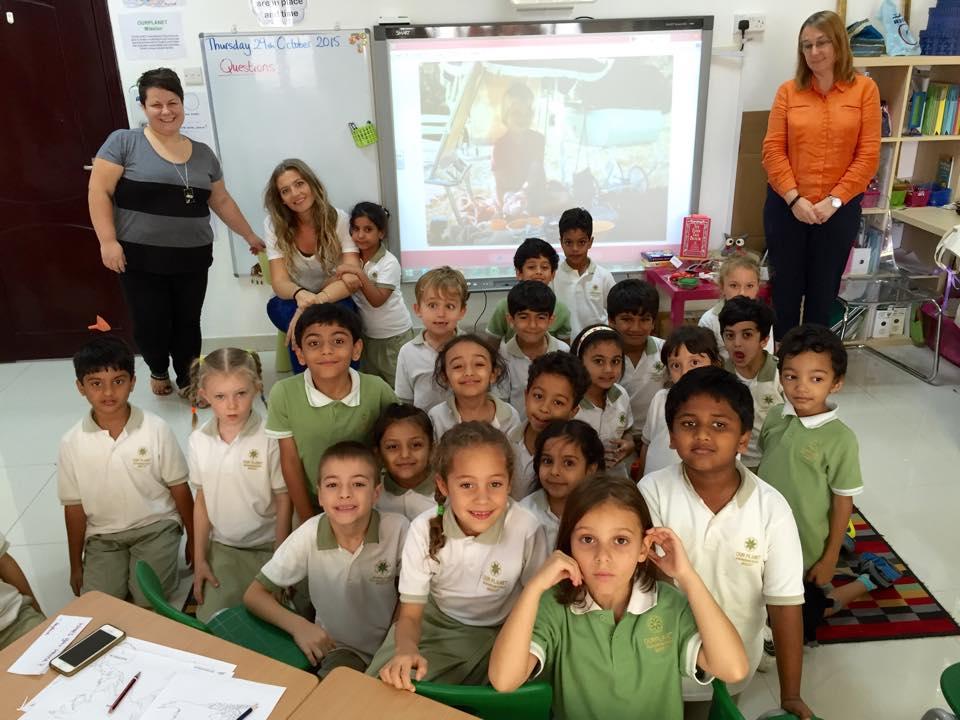 Talk with OURPLANET International School. Omani Women by Helen Couchman