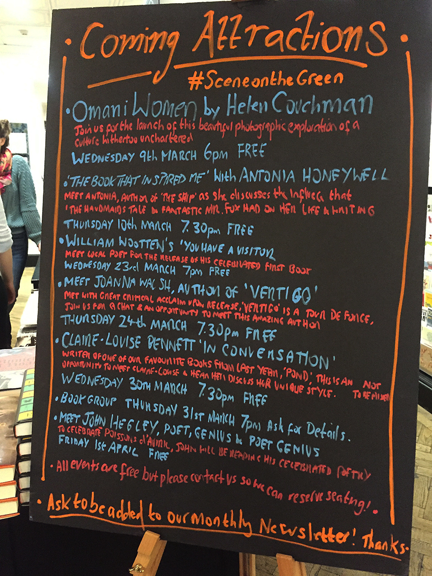 Omani Women talk, Waterstones, London